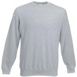 Grau meliert Herren Sweatshirt