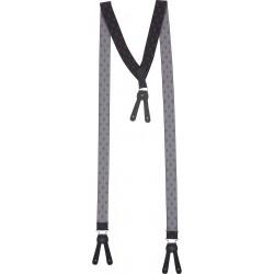 Mørk grå mønstret V bukseseler