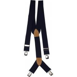 ekstra brede mørkeblå bukseseler