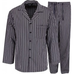 Ambassador pyjamas - grå stripete