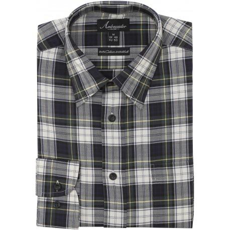 Ambassador skjorte - Gordorn skotskrutete
