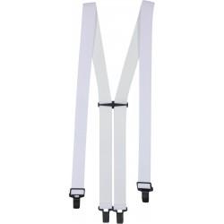 Super suspender bukseseler - Hvite