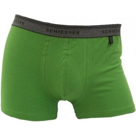 Grønne Schiesser 95/5 boksershorts