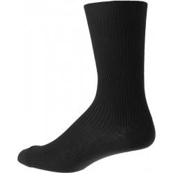 Menns sokker uten elastikk - Svart