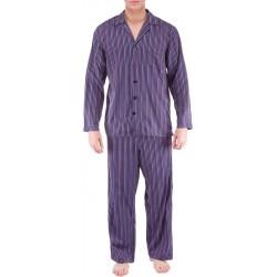 Rutete flanell pyjamas