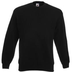 Schwarz Herren Sweatshirt