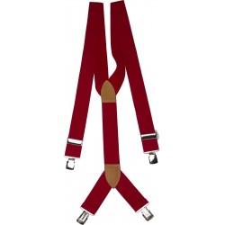 ekstra brede røde bukseseler