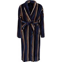 Ambassador badekåpe - Svart stripete