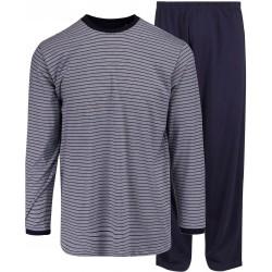 Ambassador jersey pyjamas - Blå-stripete