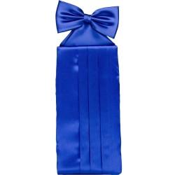Kobolt blå cummerbund