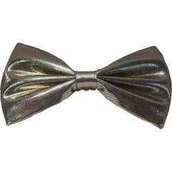 Gull tversoversløyfe med elastisk