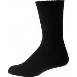Tykke svarte menns sokker med bomull