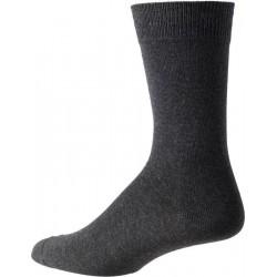 mørk grå sokker for menn