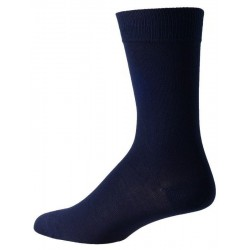 mørke blå sokker for menn