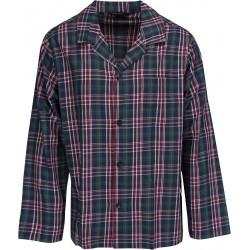 Schiesser Pyjamas for menn - Rutete Grønn