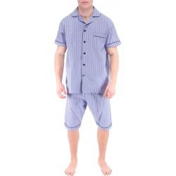 Lyseblå menns pyjamas